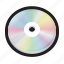 audio, blu-ray, cd, compact, disc, dvd, optical icon