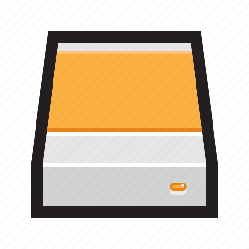 disk, drive, enclosure, external, hard, hard drive, hdd icon