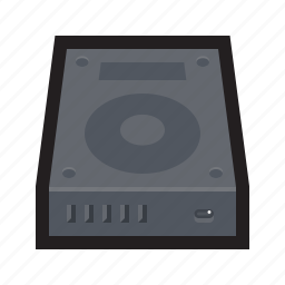 disk, drive, drive c, hard, hard disk, hdd, storage icon