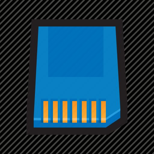card, digital, flash, memory, sd, sd card, secure icon