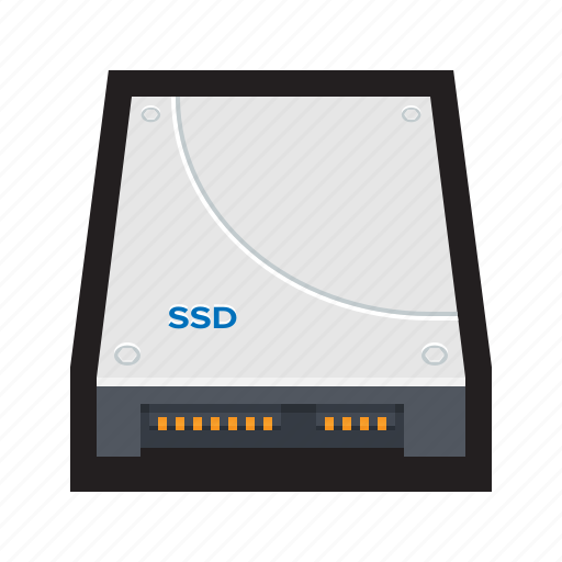 drive, hard disk, hard drive, solid, ssd, state, storage icon
