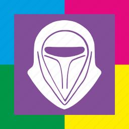 art, droid, helmet, pop, star, wars, worhall icon