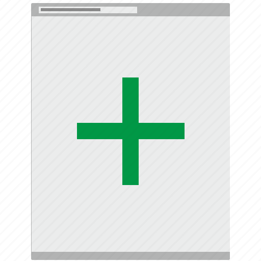 add, browser, new, page, site icon