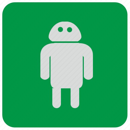 android, app, green, mobile, program icon