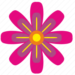 astra, bud, flower, nature, rose icon