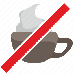 barista, cancel, coffee, cup, drink, stop icon