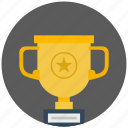award, cup, gold, place, star, winner icon