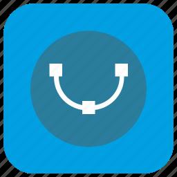 app, curve, dot, graphics, instrument, program, transform icon