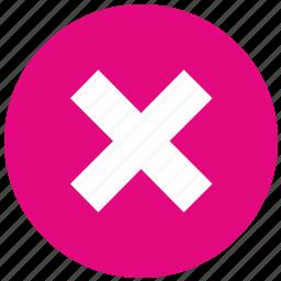 cancel, delete, disagree, stop icon