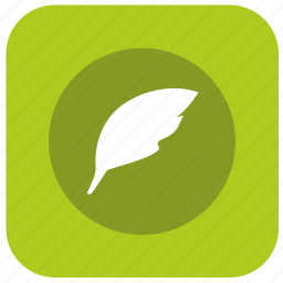app, draw, feather, graphics, instrument, pen, write icon