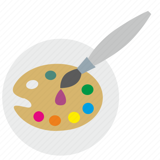 color, draw, drop, palette icon