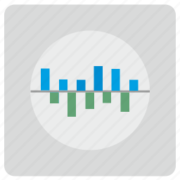 chart, dynamic, preview, report, view, visualization icon