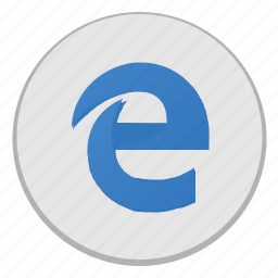 browser, e, explorer, internet, ms, pages, view icon