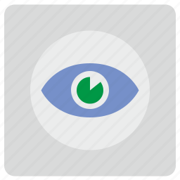 eye, preview, view, visible, visualization icon