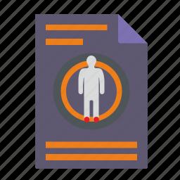 body, file, health, report icon