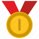 award, first, medal, one, place, winner icon