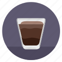 barista, coffee, dishes, drink, glass, hot icon