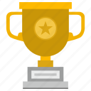 award, champion, cup, gold, star, winner icon