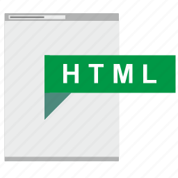 browser, code, html, markup, page icon