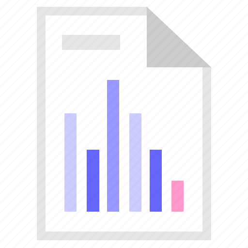 a4, chart, data, info, list, report icon