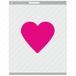 browser, content, like, love, page, social, web icon