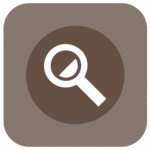 glass, graphics, instrument, loop, magnifier, scale icon