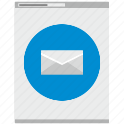 letter, mail, mailbox, message, new, online icon
