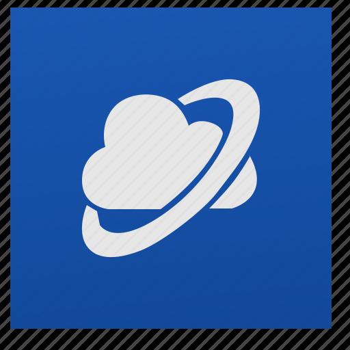 browser, nokia, program, web icon