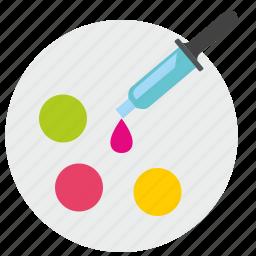 choose, color, drop, palette, pick icon