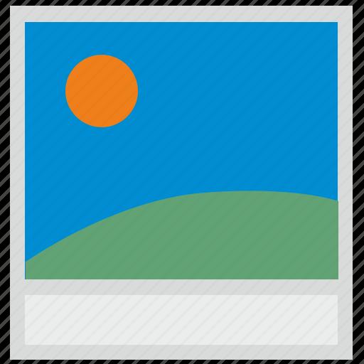 nature, photo, polaroid, shot icon