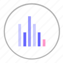 chart, data, economic, graphic, report icon