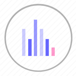chart, data, economic, graphic, report icon