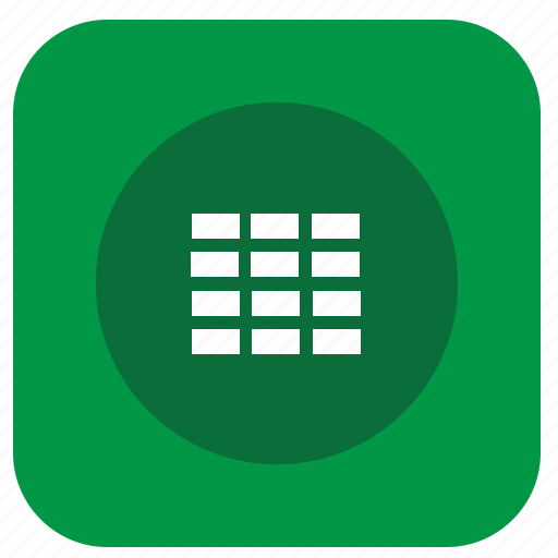application, cells, edit, graphics, instrument, program, table icon