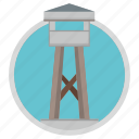 border, extreme, place, prison, tower icon