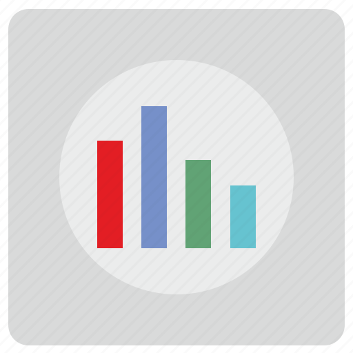 chart, data, economic, report, visual, visualization icon