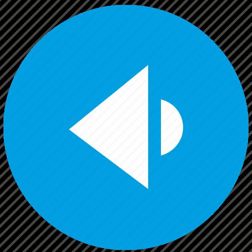 function, listen, music, round, site, sound, web icon