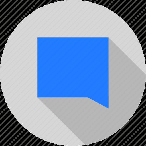 bubble, chat, conversation, letter, message, speech icon