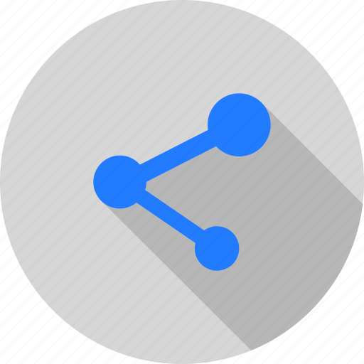 chain, connect, link, network, share, social icon