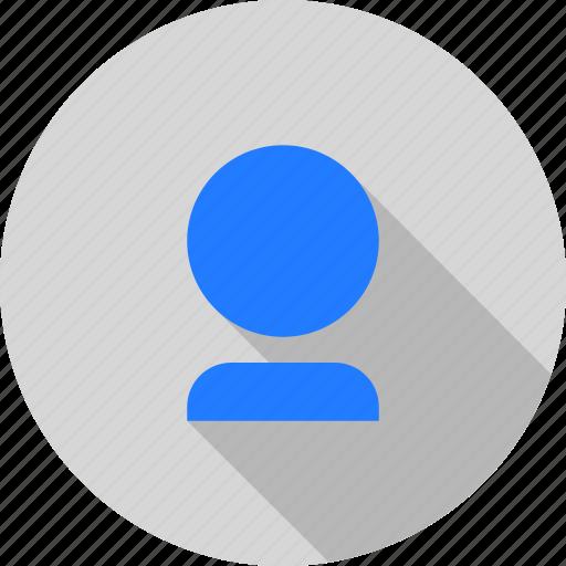 account, avatar, face, person, profile, user icon