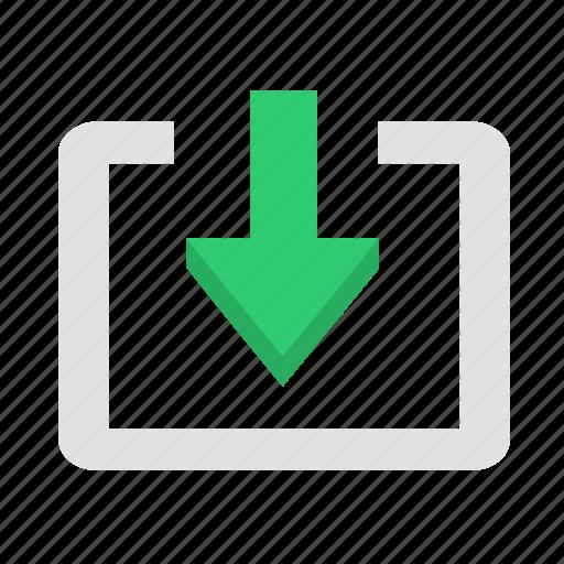 arrow, cloud, download, send, upload icon