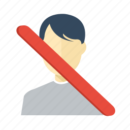 account, close, element, human, none, user icon