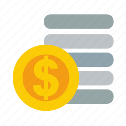 cash, currency, money, pay, payment icon
