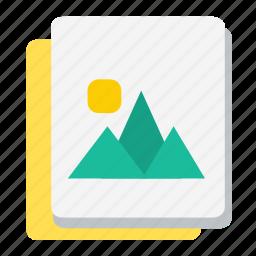 document, file, image, photo, picture, ui icon