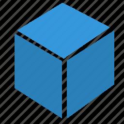 box, cube, element, ui icon