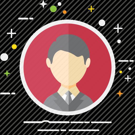 avatar, business, casual, creative, man, person, user icon