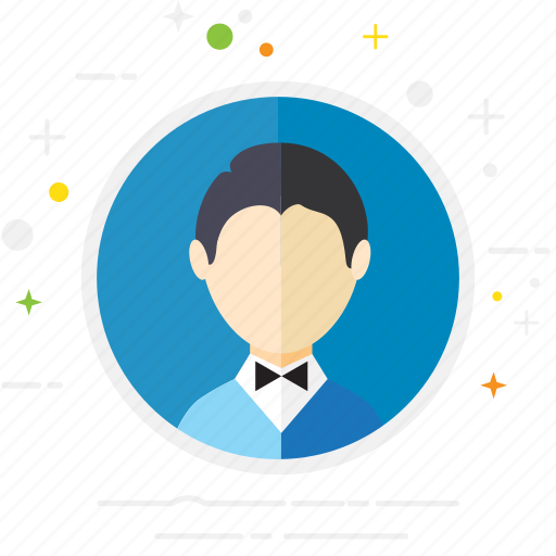 business, casual, creative, formal, man, person, user icon