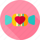 candy, food, heart, love, sugar, sweets, valentine icon