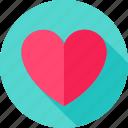 feeling, heart, love, romance, romantic, valentine icon