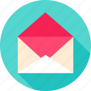 email, empty, envelope, mail, open, post, postal icon