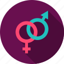 female, gender, love, male, man, sex, woman icon